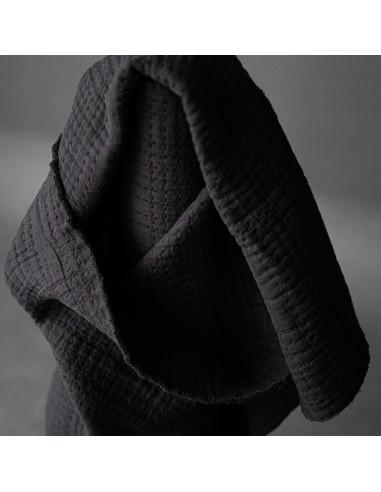 Tissu Jacquard Coton - Soft Stitch -...
