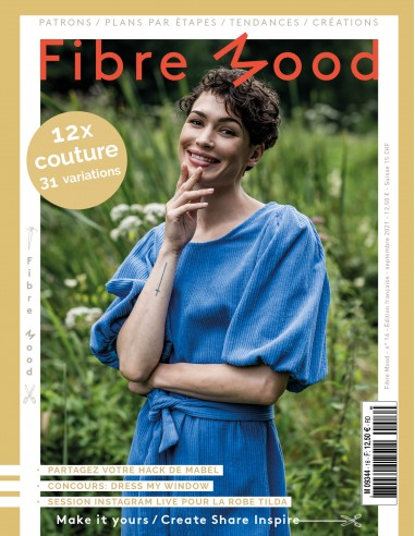 Fibre Mood n°16 - Magazine de patrons...
